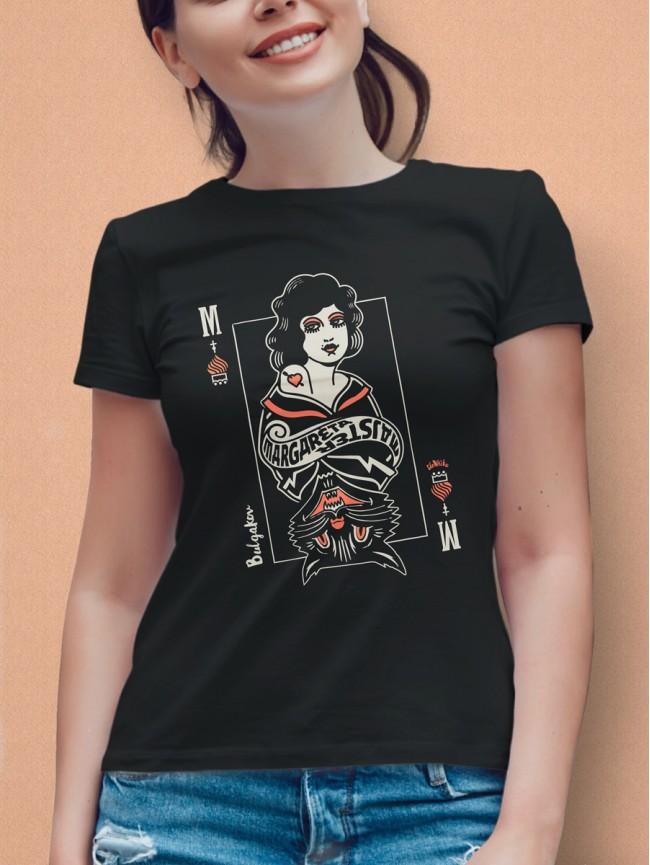 Bulgakov tričko dámske čierne