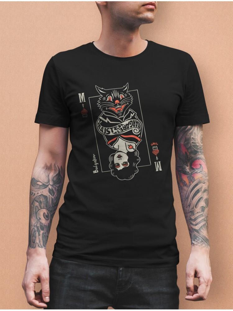 Bulgakov tričko pánske čierne