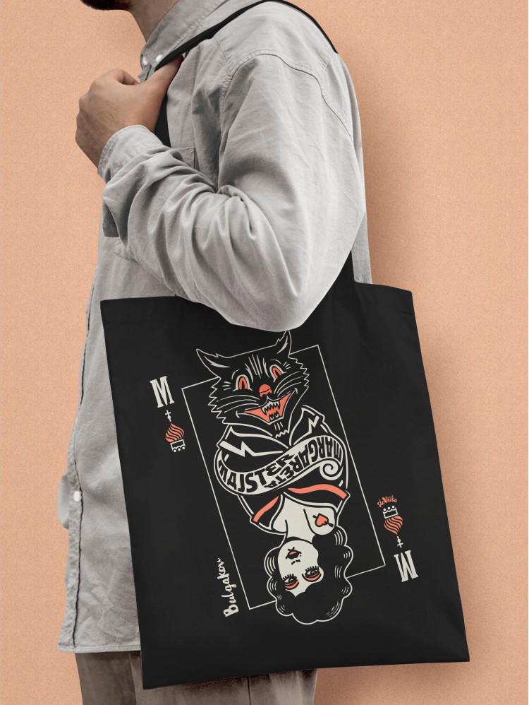 Bulgakov Tote taška stredná čierna