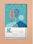 LiterArt nástenný kalendár 2018
