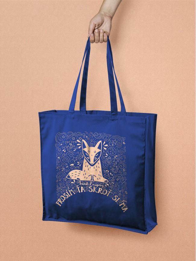 Exupéry Tote taška modrá