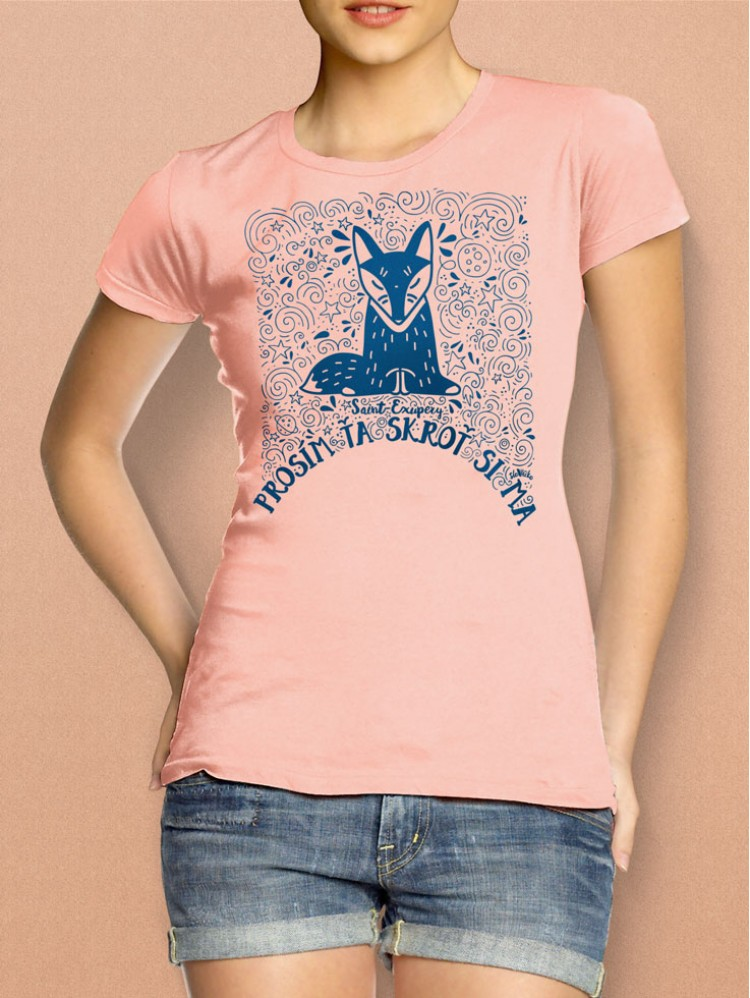 Exupéry tričko dámske losos