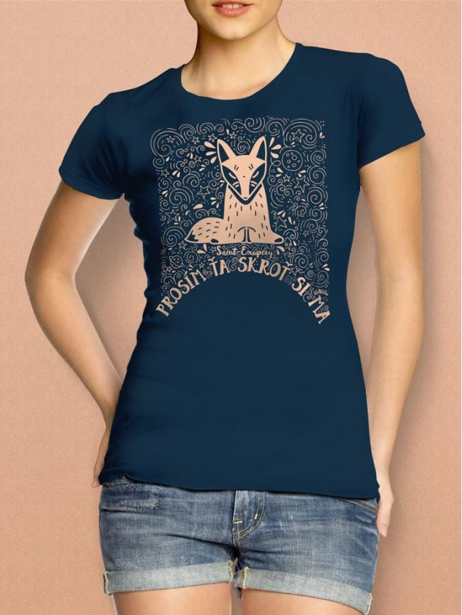 Exupéry tričko dámske modré