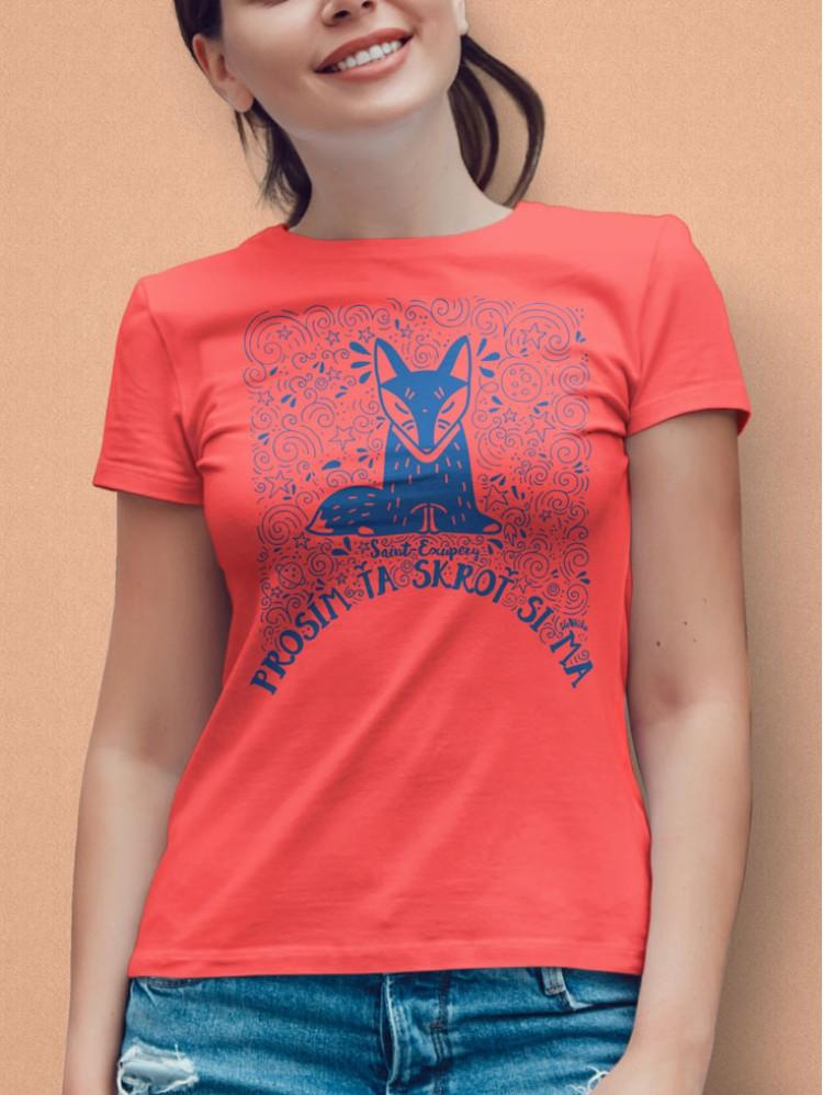 Exupéry tričko dámske Koral