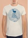 Hemingway tričko unisex natural