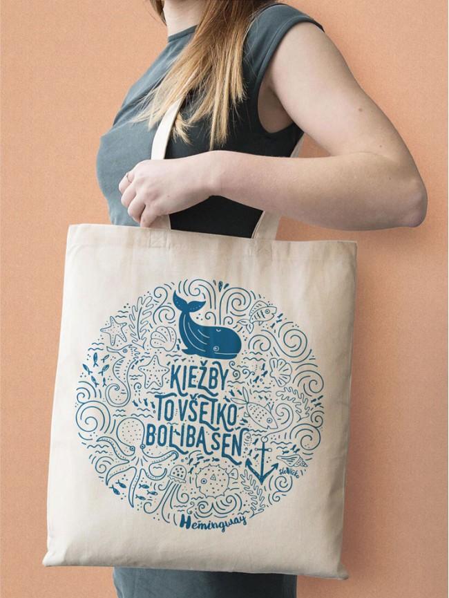 Hemingway Tote taška stredná natural