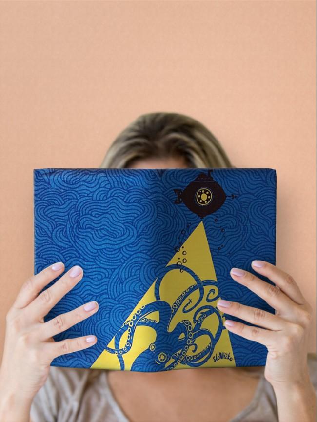 Variabilný obal na knihu Verne Nautilus