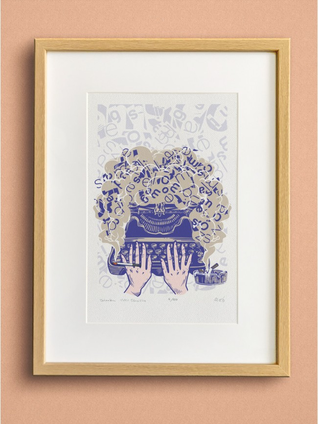 Obraz - Ilustrácia Tatarka