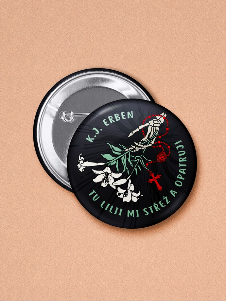 Odznak Erben Kytice 37 mm