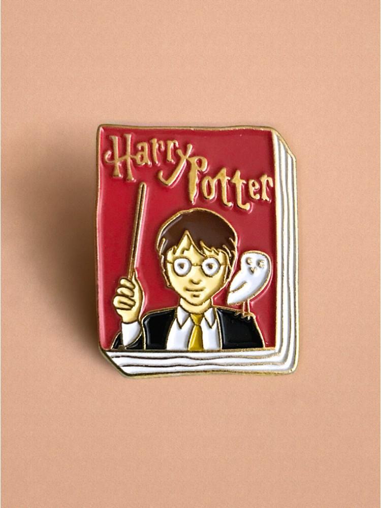 Kovový odznačik kniha Harry Potter